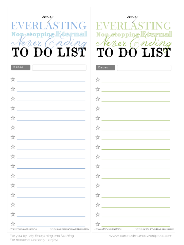 It's just a picture of Intrepid To Do List Printable Free